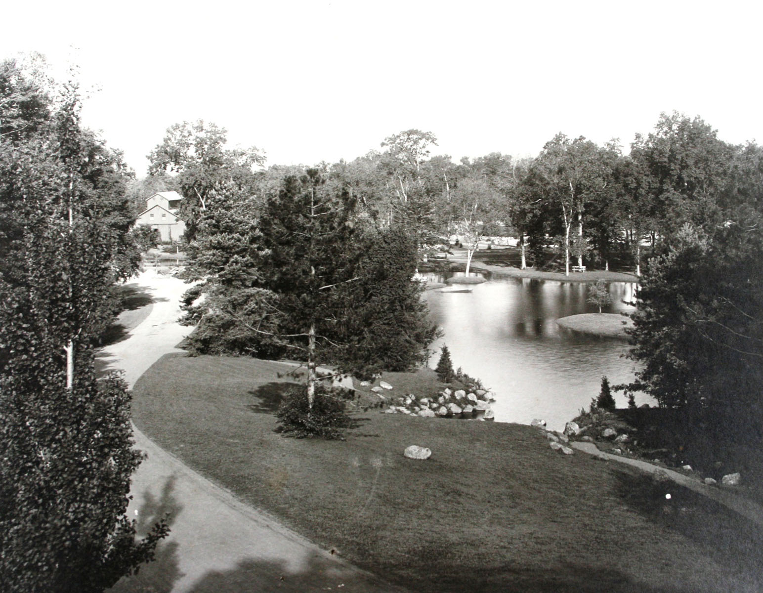 Elizabeth park csl photo view of pond pre 1914